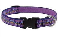 "Lupine 3/4"" Flutterby 15-25"" Adjustable Collar"