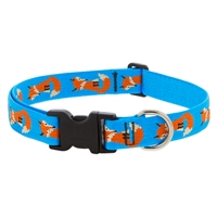 "Lupine Foxy Paws 12-20"" Adjustable Collar - Large Dog LIMITED EDITION"