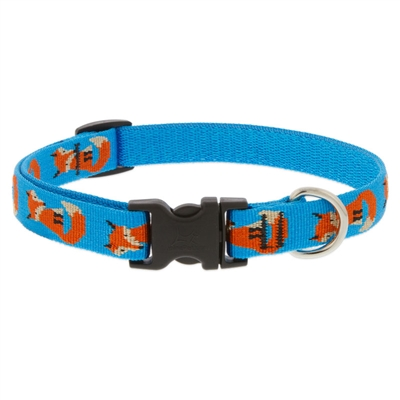 "Retired Lupine 3/4"" Foxy Paws 13-22"" Adjustable Collar"