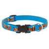 "Lupine 3/4"" Foxy Paws 9-14"" Adjustable Collar - Medium Dog"