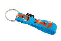 "Retired Lupine 3/4"" Foxy Paws Keychain"