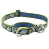 "Lupine Gone Fishin' 15-22"" Combo/Martingale Training Collar - Large Dog LIMITED EDITION"