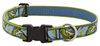 "Retired LupinePet 1"" Gone Fishin' 16-28"" Adjustable Collar - Large Dog"