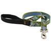 "Retired LupinePet 1"" Gone Fishin' 4' Long Padded Handle Leash - Large Dog"