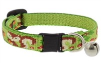 "Lupine 1/2"" Go Nuts Cat Safety Collar with Bell Ships in May 2021"