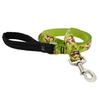 "Retired Lupine 1"" Go Nuts 4' Long Padded Handle Leash"