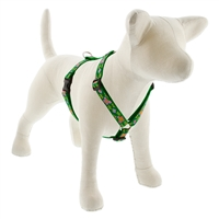 "Retired LupinePet 3/4"" Garden Party 14-24"" Roman Harness - MicroBatch"