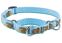 "Lupine 3/4"" Hedgehogs 10-14"" Martingale Training Collar"
