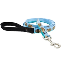 "Lupine 3/4"" Hedgehogs 4' Padded Handle Leash"