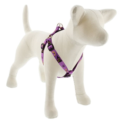 "Lupine 3/4"" Haunted House 15-21"" Step-in Harness - Medium Dog MicroBatch"