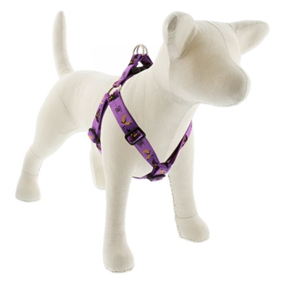 "LupinePet 1"" Haunted House 19-28"" Step-in Harness - Large Dog MicroBatch"