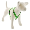 "Lupine 3/4"" Happy Holidays Green 12-20"" Roman Harness"