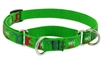 "Lupine 3/4"" Happy Holidays Green 14-20"" Martingale Training Collar"