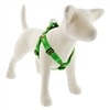 "Lupine 1"" Happy Holidays Green 19-28"" Step-in Harness"