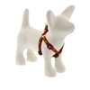"Lupine 1/2"" Happy Holidays Red 12-18"" Step-in Harness"