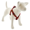 "Lupine 1"" Happy Holidays Red 19-28"" Step-in Harness"