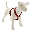 "Lupine 1"" Happy Holidays Red 24-38"" Roman Harness"