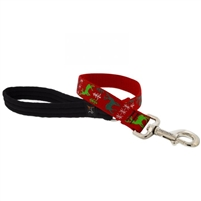 "Lupine 1"" Happy Holidays Red 2' Traffic Lead"