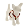 "Lupine 1/2"" Happy Holidays Red 9-14"" Roman Harness"