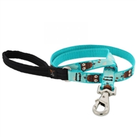 "Retired Lupine 3/4"" Hoot 6' Padded Handle Leash"