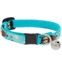 "Lupine 1/2"" Hoot Cat Safety Collar with Bell"