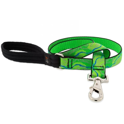 "Retired Lupine 1"" Intervale 6' Long Padded Handle Leash"