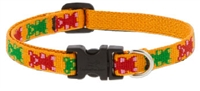"Lupine 1/2"" Jelly Bears 10-16"" Adjustable Collar"