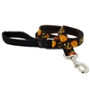 "Lupine 1"" Jack O Lantern 4' Long Padded Handle Leash"
