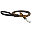"Lupine 1/2"" Jack O Lantern 4' Padded Handle Leash"