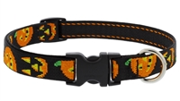 "Lupine 3/4"" Jack O Lantern 9-14"" Adjustable Collar"
