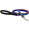 "Lupine 1/2"" Let it Snow 4' Padded Handle Leash"