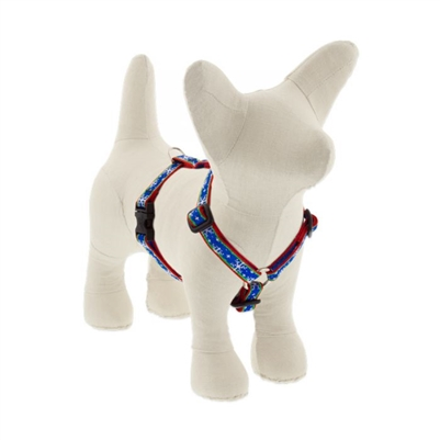 "Lupine 1/2"" Let it Snow 9-14"" Roman Harness"