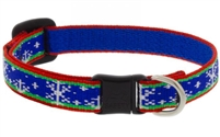 "Lupine 1/2"" Let it Snow Cat Safety Collar"