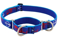 "Retired Lupine 1"" Lobstahs 15-22"" Martingale Training Collar"