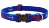 "Lupine 1"" Lobstahs 16-28"" Adjustable Collar - Large Dog LIMITED EDITION"
