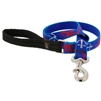 "Retired Lupine 1"" Lobstahs 4' Long Padded Handle Leash - Large Dog"