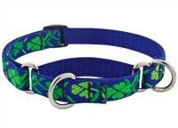 "Lupine 3/4"" Lucky 10-14"" Martingale Training Collar"