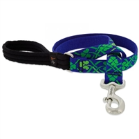"Lupine 1"" Lucky 4' Long Padded Handle Leash MicroBatch"