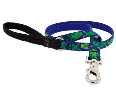 "Lupine 3/4"" Lucky 4' Padded Handle Leash MicroBatch"