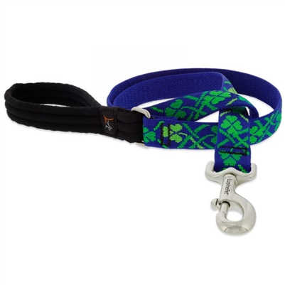 "Lupine 1"" Lucky 6' Long Padded Handle Leash"