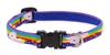 "Lupine 1/2"" Little Unicorn 10-16"" Adjustable Collar"