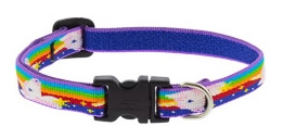 "Lupine 1/2"" Little Unicorn 6-9"" Adjustable Collar"