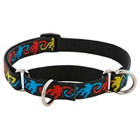 "Retired LupinePet 3/4"" Monkey Business 10-14"" Martingale Training Collar - Medium Dog"