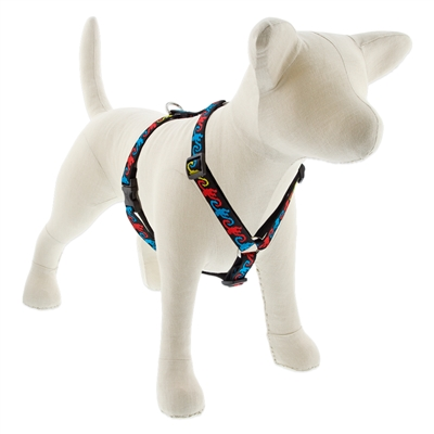 "Lupine Monkey Business 14-24"" Roman Harness - Medium Dog LIMITED EDITION"