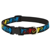 "Lupine 3/4"" Monkey Business 15-25"" Adjustable Collar - Medium Dog LIMITED EDITION"