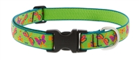 "Retired Lupine 1"" Meadow 16-28"" Adjustable Collar - Large Dog"