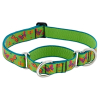 "Lupine Meadow 19-27"" Combo/Martingale Training Collar - Large Dog LIMITED EDITION"