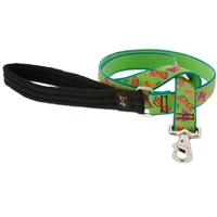 Lupine Meadow 6' Long Padded Handle Leash - Large Dog LIMITED EDITION