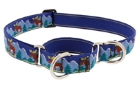 "Lupine Moose Mania 19-27"" Combo/Martingale Training Collar - Large Dog LIMITED EDITION"