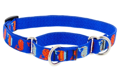"Retired LupinePet 3/4"" Mod Pod 10-14"" Martingale Training Collar - Medium Dog"
